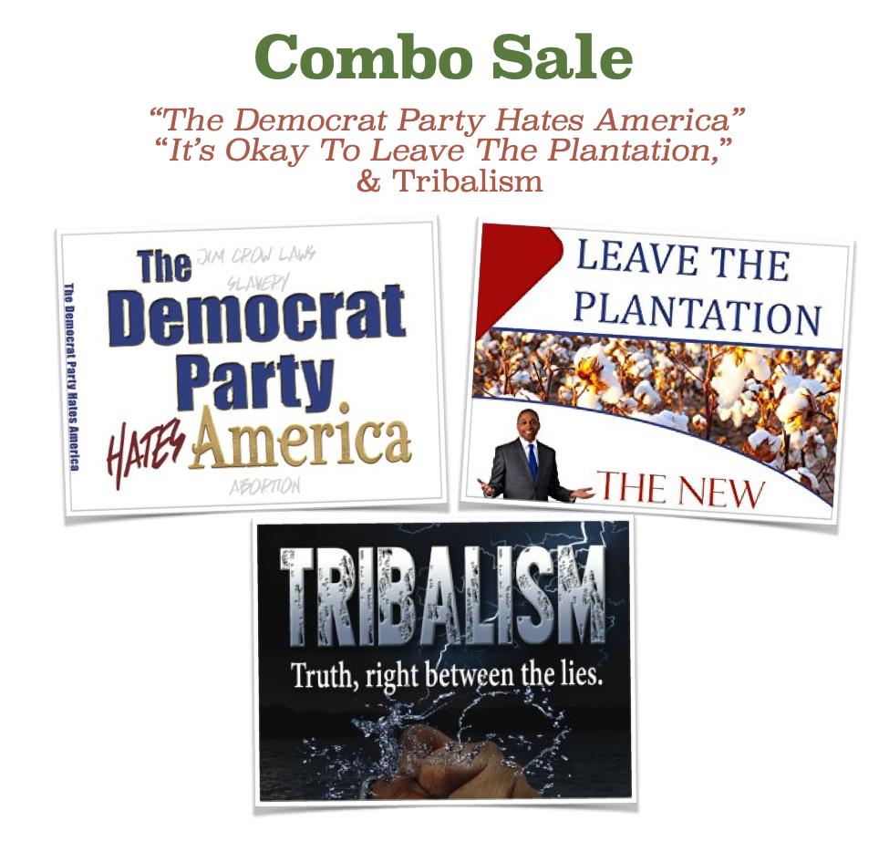Cultural Book Combo3-Democrat-Leave-Tribalism